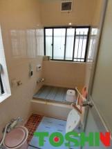 浴室の断熱工事 施工前