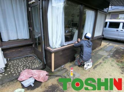 外壁の修繕工事