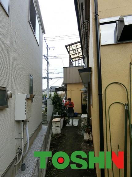 軒天修理の周辺状況