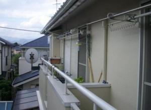 テラス屋根取付施工前