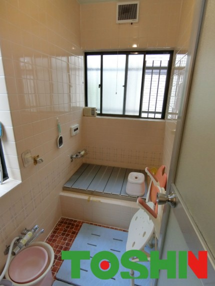 浴室の断熱工事