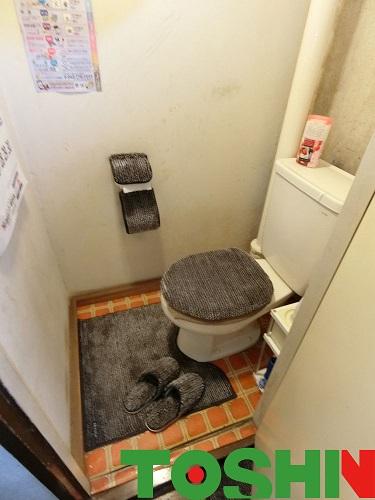 トイレ改修工事 施工前