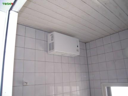 後付浴室換気暖房乾燥機 施工後