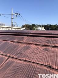 カラーベスト屋根の修理