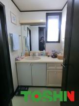 LIXIL ルミシスで洗面化粧台をリフォーム