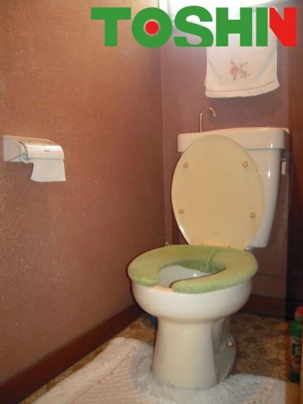 トイレにコンセント新設