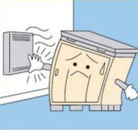 給湯器付近設置禁止