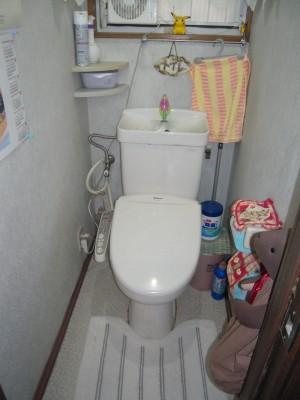 旧型のトイレ