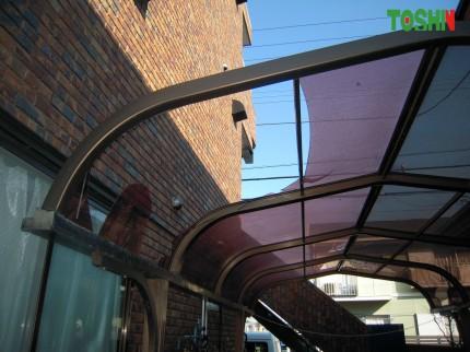 テラス屋根・カーポートの屋根材交換