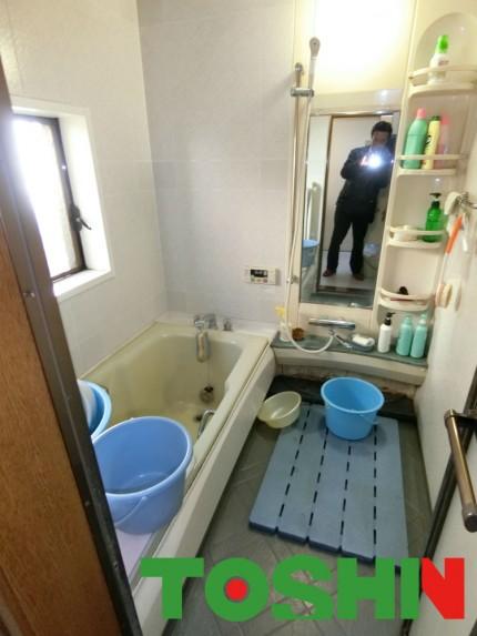 掃除が楽で暖かいお風呂にリフォーム