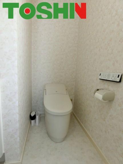 洗面化粧台とトイレを同時にリフォーム