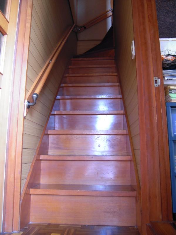 階段手摺の取付