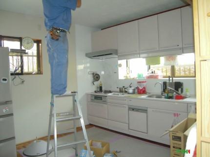 キッチン工事