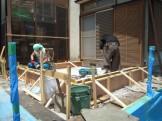 増築工事が始まりました