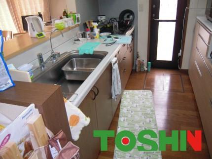 キッチン工事施工前