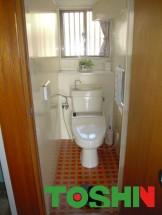 リフォーム前の1Fトイレ
