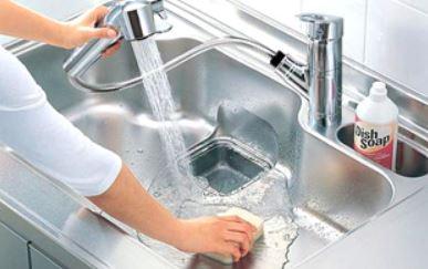 キッチン水栓 ハンドシャワー