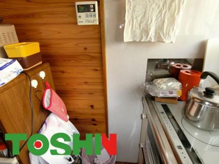 既存のキッチンパネル
