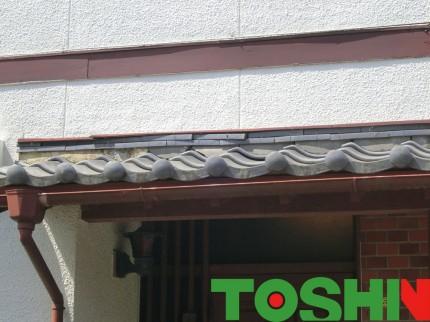 外壁塗装と瓦の修理