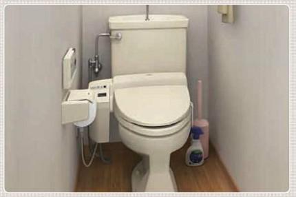 狭いトイレbefore