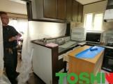 キッチンの交換工事