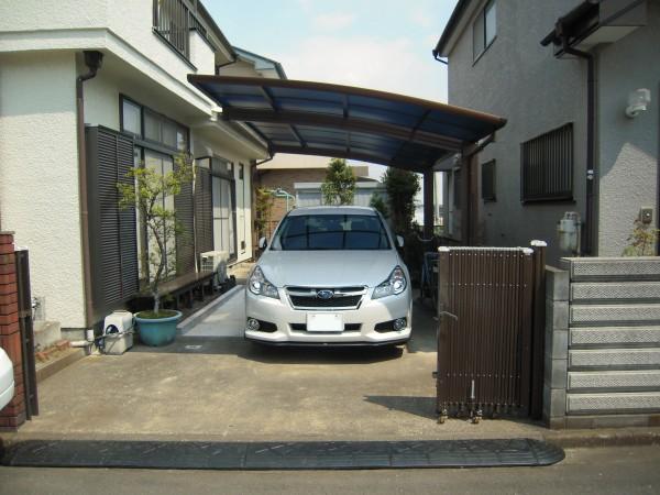 YKKのカーポートレイナポート神奈川