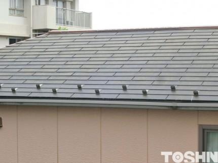 屋根の点検修理 塗り替え工事 相模原市 S様邸