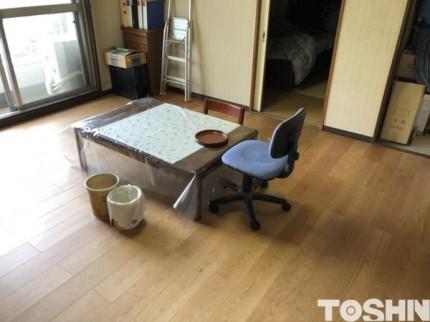 マンションの床工事