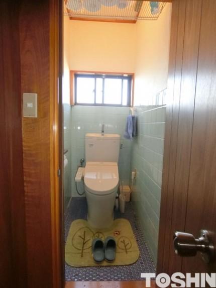 トイレの改修工事