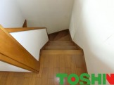 階段に手すりの取付け