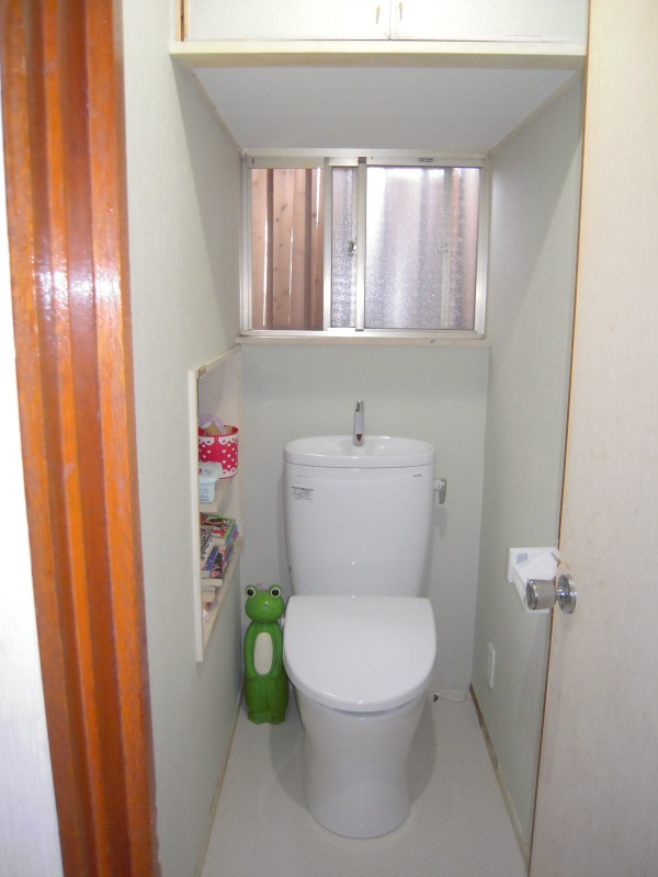 節水型トイレへのリフォーム神奈川