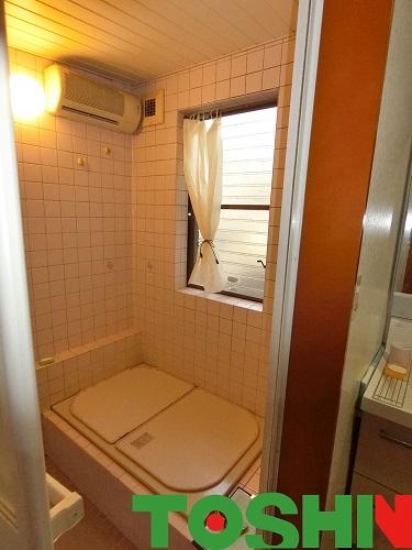浴室改修工事 施工前