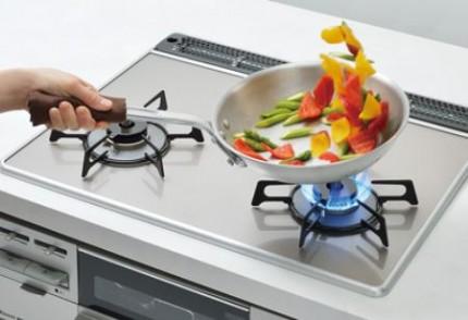 システムキッチン シエラ ガラストップタイプ