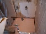 洗面所の床改修