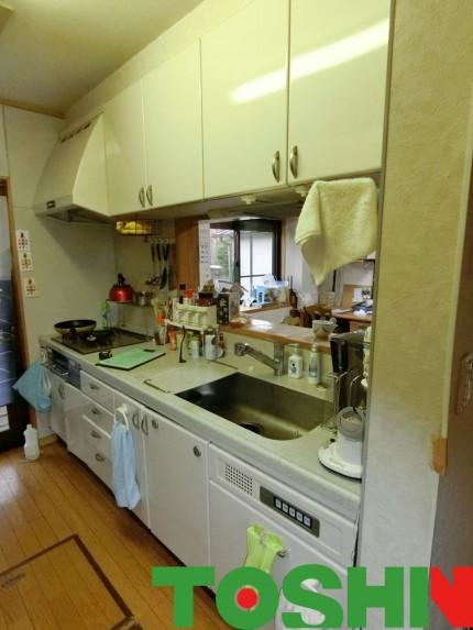 キッチンの改修工事