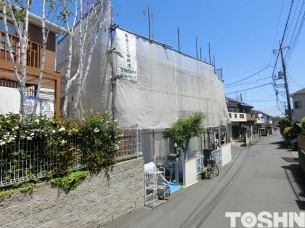 ジョリパットフレッシュで外壁塗装