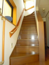 階段手すりの設置工事完了