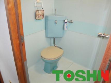 トイレの改修工事施工前