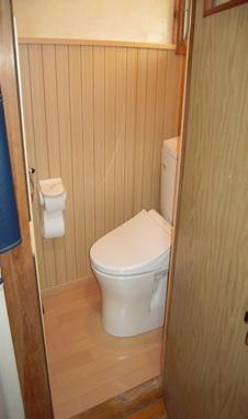介護保険によるトイレ改修工事後