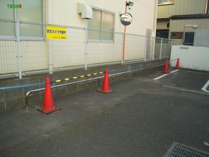 駐輪パイプ
