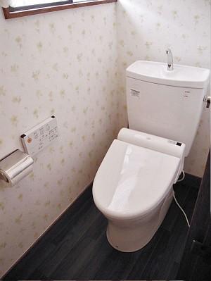 2階のトイレ 施工後