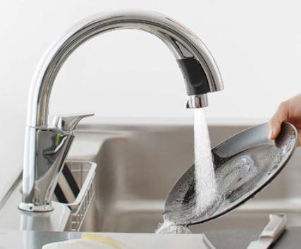 キッチン サンヴァリエ リシェルSI ハンズフリー水栓