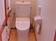 節水型のトイレにリフォーム