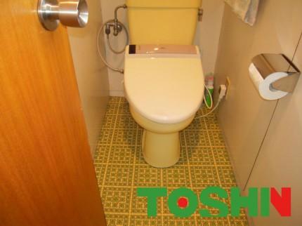 リフォーム前の2Fトイレ
