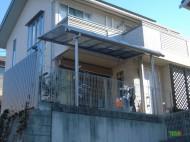 テラス屋根②