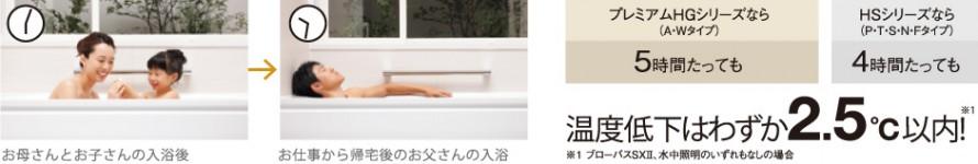 冷めにくいお風呂にリフォーム