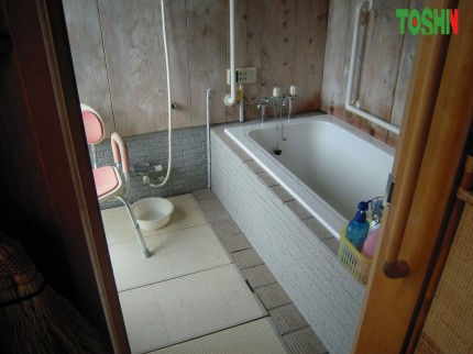 お風呂の改修工事