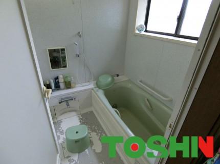 浴室工事施工前