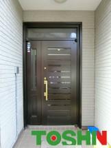 玄関扉の交換