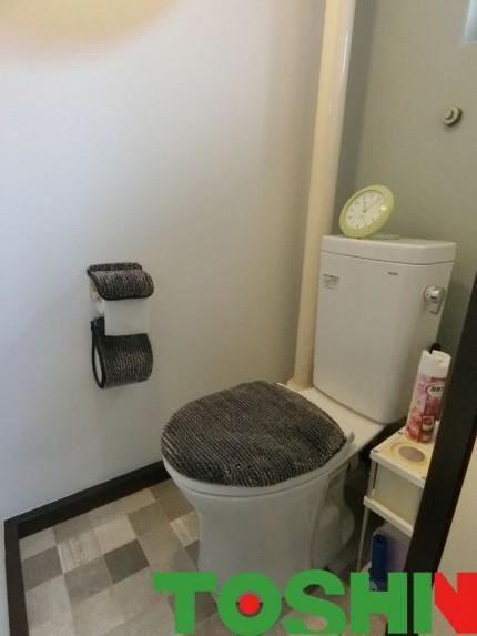 内装を一新トイレのイメージチェンジ